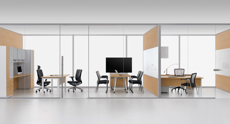 Alur Glass Walls for Office