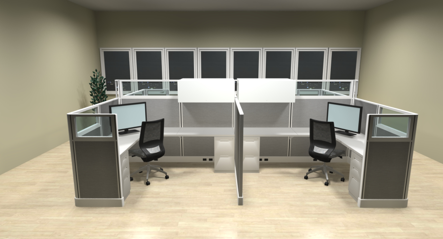 Commercial Office Workstations