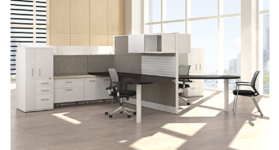 Panel Based Workstation - Friant Interra 4