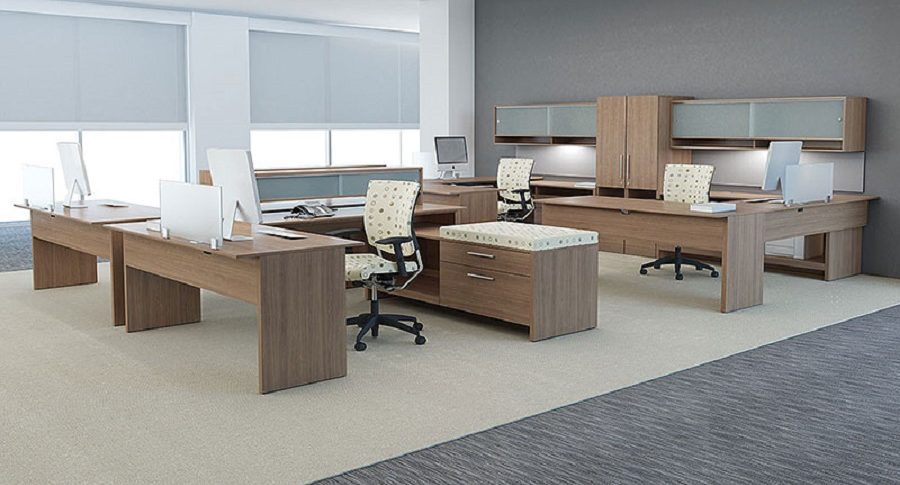 Open Plan Workstations - Global Princeton