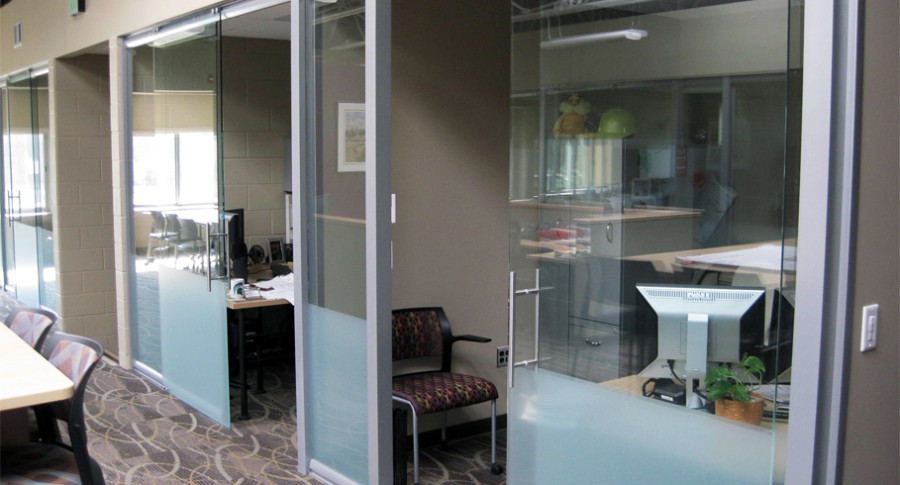 Glass Walls for Commercial Office