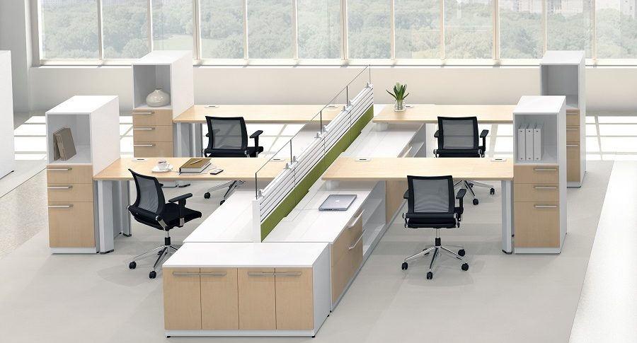 Open Plan Workstations - Hybrid
