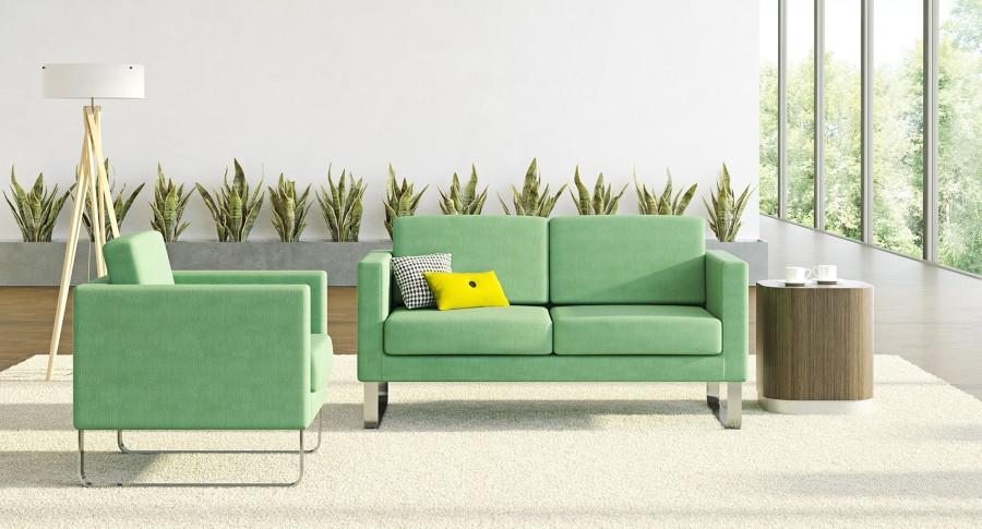 Office Lobby Sofa - LOE Cubic