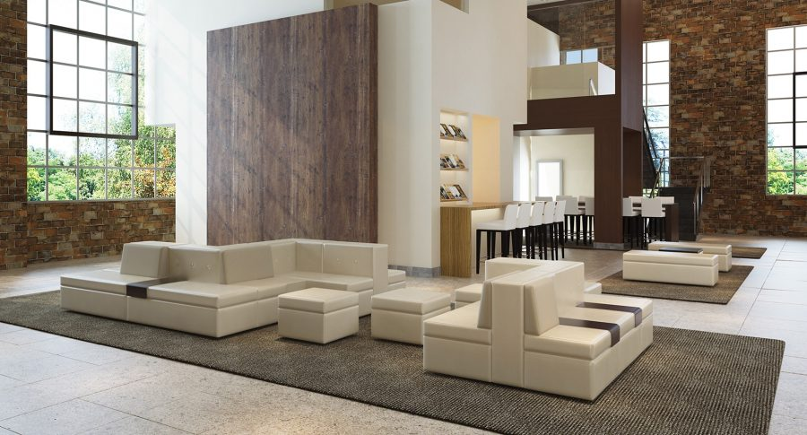 Furniture for Office Lobby - LOE Tangent 4