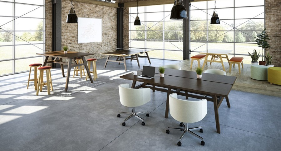 Office Lounge Furniture - OFS Rift Tables