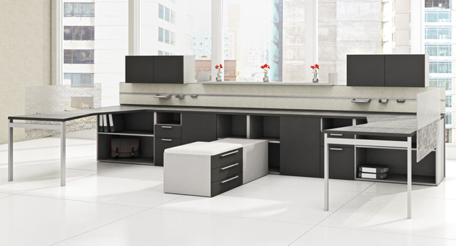 Open Plan Workstations - Staks 1