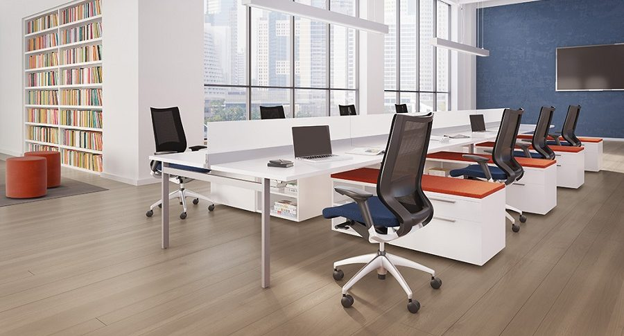 Open Plan Workstations - Staks 7