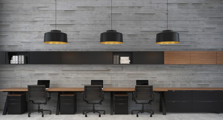 Open Plan Workstations - Uburu Call Center