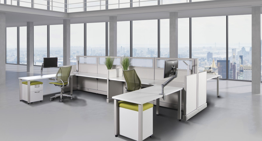 Commercial Office Furniture - Workstations