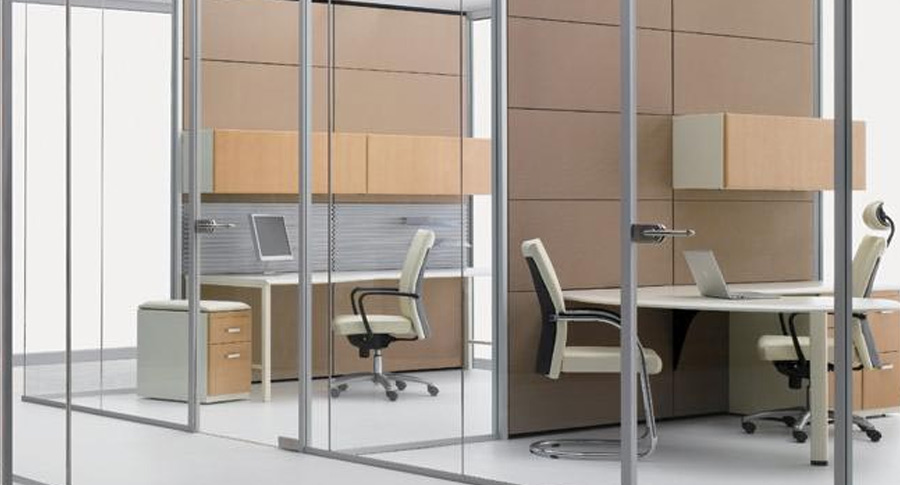 Architectural Glass Walls - Office Design