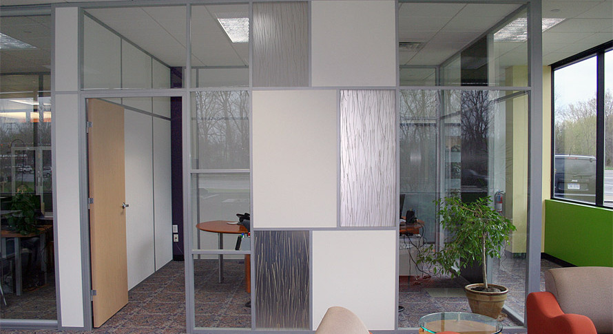 Front Glass Walls - Office Interiors