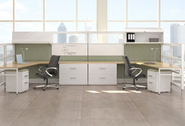 Panel Based Office Workstations