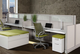 Commercial Essentially New Office Workstations