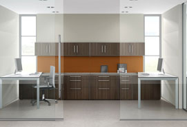 Architectural Glass Office Walls
