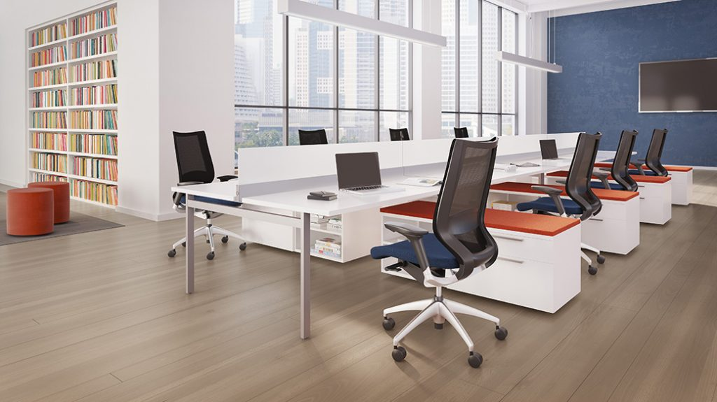 extra office interiors benching