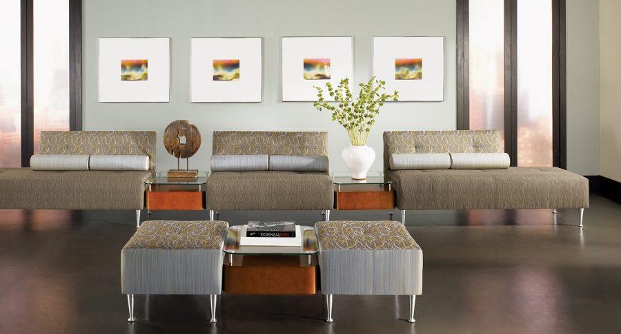 Interior Design for Office Lounge - CBF Retrospect Modular 5