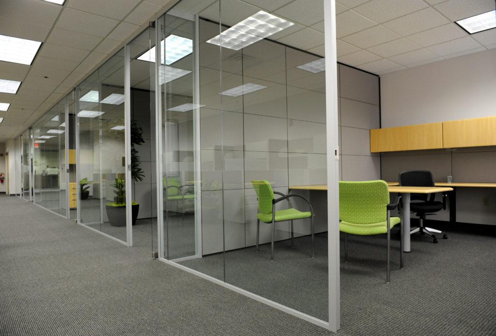 floor to ceiling cubicle